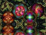 4 Colourful Balls by Rozrr