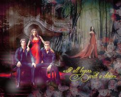 The Vampire Diaries wallp by Lady-Karalinka
