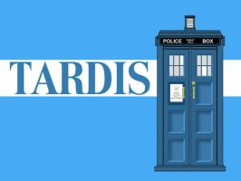 TARDIS Wallpaper 4 In A Series by Carthoris