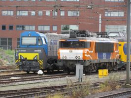 MaK G 2000BB and 1619 by damenster