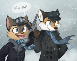 C: Furs With Guns by Phoelion