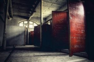 Red Doors by kromo