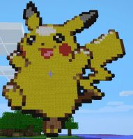 Pikachu Minecraft by Zyan1234
