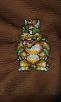 Cross-Stitch Bowser by bekah1984