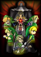 The Legend of Zelda by EmilyKiwi