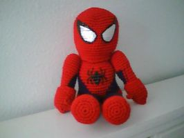 Spideyplushie, with mask by MasterPlanner