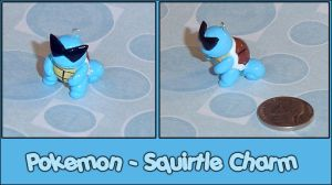 Pokemon - Squirtle Charm by YellerCrakka