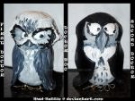 1'st and 2'nd Doctor owl by Mad-Hattie