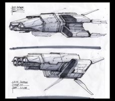 .:Ship sketches- 55- 6:. by David-Holland