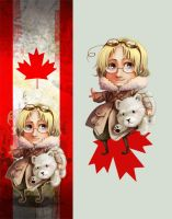 Canada sticker - bookmark by oneoftwo