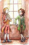 Mozart and Beethoven by Demona-Silverwing