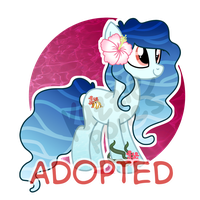 Ocean Pony Auction [CLOSED] by Kazziepones