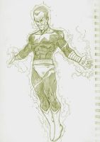 Sinestro Sketch by sketchpimp