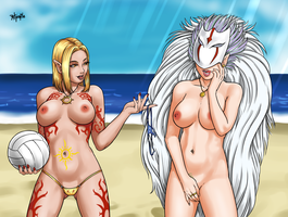 D+D Xtreme Beach Volleyball 4 by Maelora69