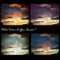 What Colour Is Your Sunset? by XuchilbaraPH