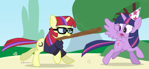 I'll Amend YOUR Fence! by dm29