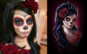 Sugarskull make up by Anna-Marine