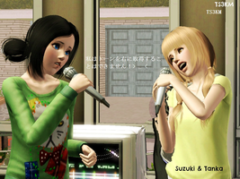 Suzuki and Tanaka in now days .. lol by TheSims3KawaiiMaker