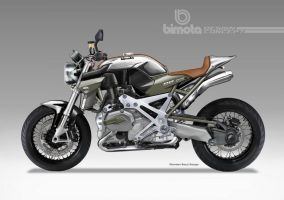 BIMOTA BB-4 S Cafe Fighter Concept # 7 by obiboi