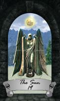 Skyrim Tarot 19 - The Sun by Whisper292