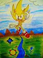 A Super Sonic View by DarkGamer2011