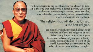 Dalai Lama on the best religion by hanciong