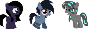 Minecraft pony adopts 2 CLOSED by Laser-Pancakes