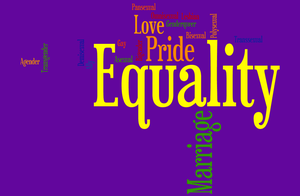 Equality Word Cloud by Rawr-devil