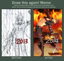 Draw this again meme by LoRd-TaR
