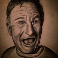 Robin Williams by Mrsaunders