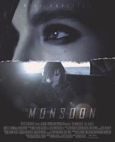 Bill Kaulitz in The Monsoon - movie poster by kathismisguidedghost