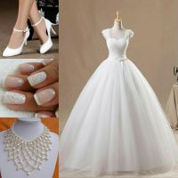 White Ball Gown Outfit by Angela247