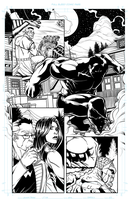Red Hulk Pg 01 by dwaynebiddixart