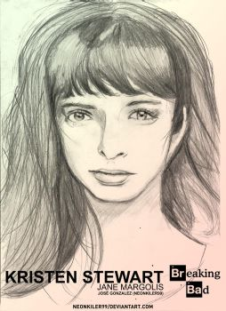 Krysten Ritter (Breaking Bad) Drawing by neonkiler99