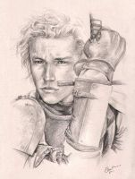 Heath Ledger-Knights Tale-RIP by ElsaKroese