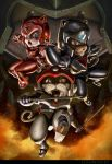 SAMURAI PIZZA CATS by CarlosDattoliArt