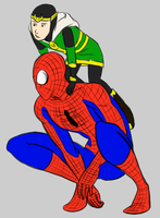 kidloki spiderman by pride1289