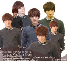 Jaejoong fanmeeting in VietNam renders by BiLyBao