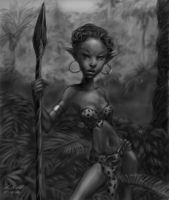 Jungle Elf by digistyle