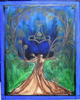 With in the tree of life by Dinayarose