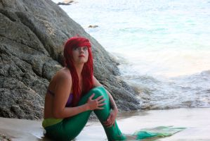 the little mermaid Ariel by PinkMurka