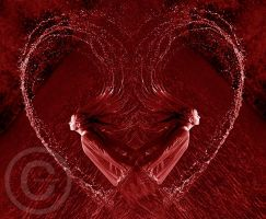 Glowing Heart by ninazdesign