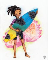 Surfer girl by Lollypopp
