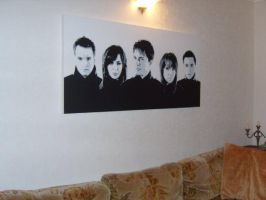 Torchwood painting on canvas by adrianpatrick