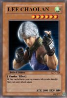 Yu-gi-oh Card lee by Blazeblackwing