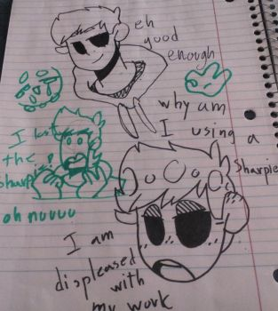 sharpie doodles the second by AshliTheWolf