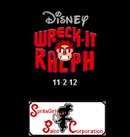 Wreck It Ralph SpriteArt by SpriteGirl
