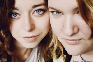 Char and Emi by KatieLindPhotography
