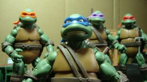 TMNT movie classic figures by stopmotionOSkun