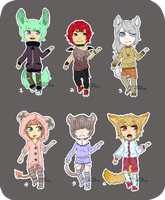 Offer To Adopts {CLOSED} by hellafluffy